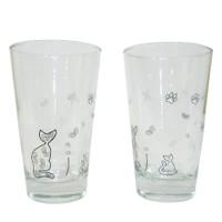 Cats by Luyano 2 li Meşrubat Bardağı