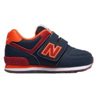 New Balance Kids Infant, NAVY/RED, W, 22.5