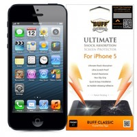 Buff Apple iPhone 5S Darbe Emici Ekran Koruyucu Film
