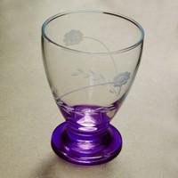 Başak 41011 Çın Çın 12 Adet (Mavi Papatya) Su-Meşrubat Bardaği