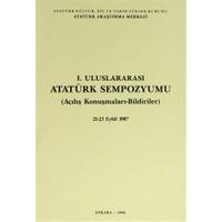 1. Uluslararası Atatürk Sempozyumu