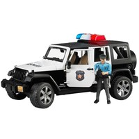 Bruder Jeep Wrangler U.R. Polis Aracı ve Memur