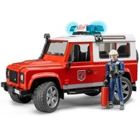 Bruder Land Rover İtfaiye Aracı ve İtfaiye Memuru