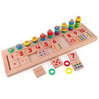 Blueway Eğitici Logaritma Tahtası Anaokulu Eğitim Gelişim Zeka Oyunu