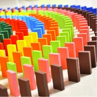Blueway Ahşap 580 Parça Domino Taşı Eğlence Oyunu