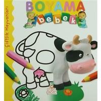 Boyama Bebek: Çiftlik Hayvanları