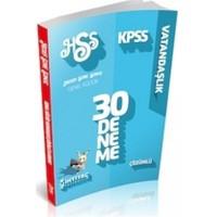 İhtiyaç KPSS 2014 Vatandaşlık Çözümlü 30 Deneme Sınavı