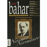 Berfin Bahar Aylık Kültür, Sanat ve Edebiyat Dergisi Sayı : 187