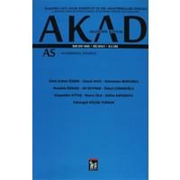 Akad Akademik Kaynak Dergisi Sayı: 2