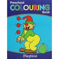 Preschool Coloring Book : Playtime