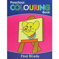 Preschool Coloring Book : First Words