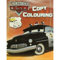 Disney Pixar The World Of Cars - Copy Colouring