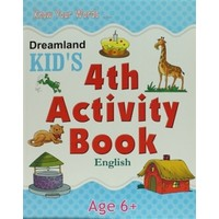 Dreamland Kid's 4 th Activity Book: English (6)