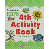 Dreamland Kid's 4 th Activity Book: Environment (6)