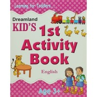 Dreamland Kid's 1st Activity Book: English (3)