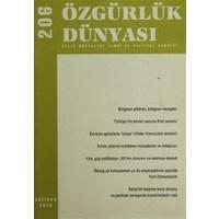 Özgürlük Dünyası Aylık Sosyalist Teori ve Politika Dergisi Sayı : 206 - Haziran 2009
