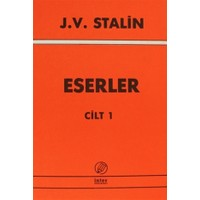 J. V. Stalin Eserler Cilt 1