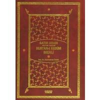 Satır Arası Kur'an-ı Kerim Meali Kelime Kelime (İki Cilt Bir Arada Orta Boy)