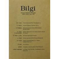 Bilgi Sosyal Bilimler Dergisi Sayı: 1999/1