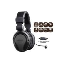 Goldmaster Hp-51 Mikrofonlu Kulaküstü Siyah Kulaklık