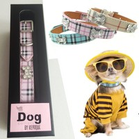 Bb Boyun Tasması - Pembe - Dog Collar By Kemique