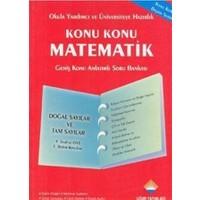Konu Konu Matematik - Doğal Sayılar ve Tam Sayılar