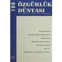 Özgürlük Dünyası Aylık Sosyalist Teori ve Politika Dergisi Sayı : 198 - Ekim 2008