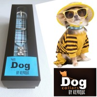 Bb Boyun Tasması - Mavi - Dog Collar By Kemique