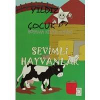 Yıldız Çocuk Boyama Kitabı Serisi: Sevimli Hayvanlar