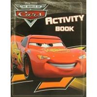 Disney Pixar The World Of Cars - Activity Book