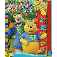 Disney My Friens Tigger and Pooh : Heght Chart Book