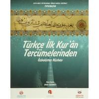 Türkçe İlk Kur'an Tercümelerinden: Özbekistan Nüshası (Büyük Boy)