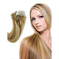 Hairens® 8 Parça Gerçek Doğal Çıt Çıt Saç Röfleli Sarı 170gr.