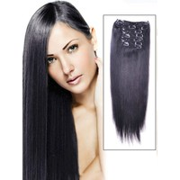 Hairens® 8 Parça Gerçek Doğal Çıt Çıt Saç Boyasız (Kestane) 170gr.