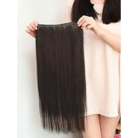 Hairens® Yarım Ay Gerçek Doğal Çıt Çıt Saç Boyasız (Kestane) 150gr.