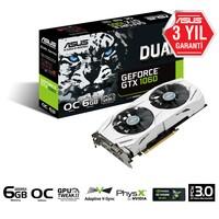 Asus DUAL Nvidia GeForce GTX 1060 6GB OC 192Bit GDDR5 (DX12) PCI-E 3.0 Ekran Kartı DUAL-GTX1060-O6G