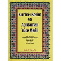 Rahle Boy Kur'an-ı Kerim ve Açıklamalı Yüce Meali (3'lü)