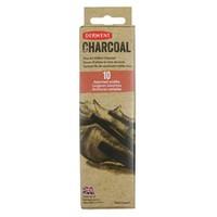 Derwent Xl Willow Charcoal 10'Lu Set (2 Ad.16-24Mm;4 Ad.Orta;4 Ad.2-3Mm) Dw2302034