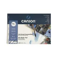 Canson Fınface Çok Amaçlı Resim Blokları 200Gr 35X50 15Yp C200153550