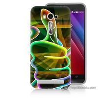 Bordo Asus Zenfone 2 Laser 5.5 Kapak Kılıf El Baskılı Silikon