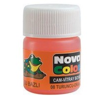 Nova Cam Boyası Turuncu Su Bazlı Nc-156