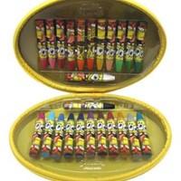 Monami Sünger Bob 24 Renk Çantalı Pastel