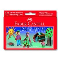 Faber Oyun Hamuru 12 Renk Red Lıne 5170120001
