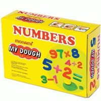 Monami Oyun Hamuru Numbers Set