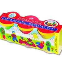 Faber Oyun Hamuru Su Bazlı 3 Renk 5170120836