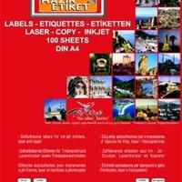 Tanex 22X12 Laser Etiket Tw-2280