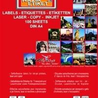 Tanex 64X34 Laser Etiket Tw-2024