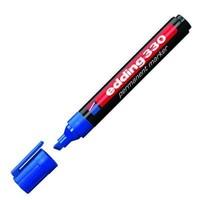 Edding 330 Mavi Permanent Kesik Uç Marker Kalem