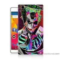 Bordo Casper Via M1 Kapak Kılıf Renkli Joker Baskılı Silikon