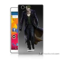 Bordo Casper Via M1 Kapak Kılıf Joker Klasik Baskılı Silikon